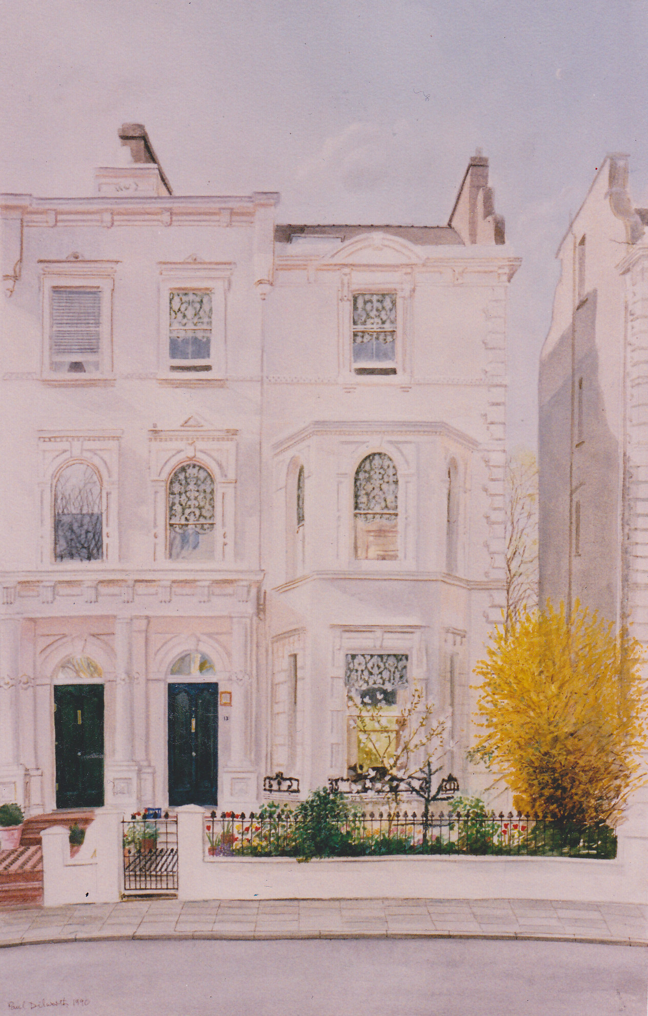 Maida Vale house