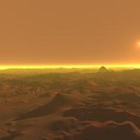 (Photos) Mars renderings terrain and atmosphere software.