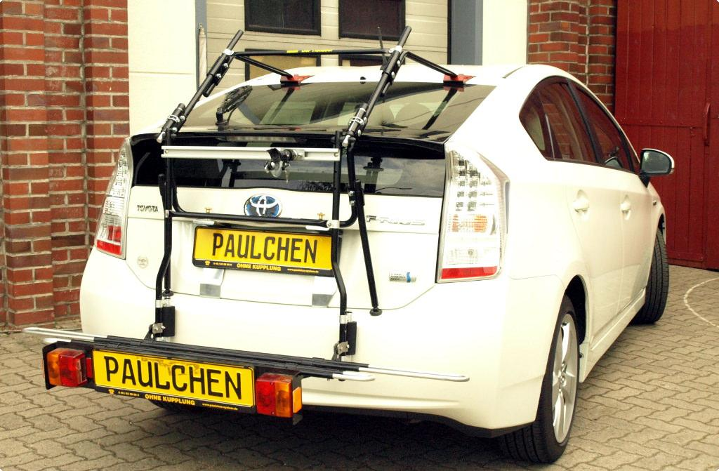 bicycle carrier for toyota prius zvw3