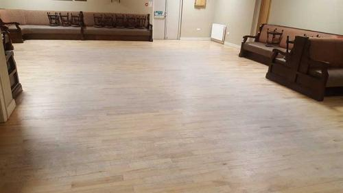 Maple Bar Floor Before