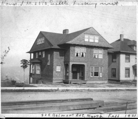 The Millis home in 1901