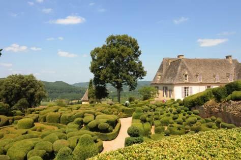 The chateau of Marqueyssac