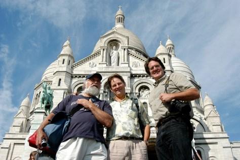 L-R: Paul, Bill & Jean (photo by Berangere Lomont)