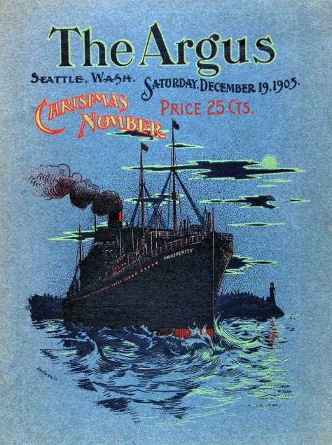 The Argus Christmas Issue for 1905.