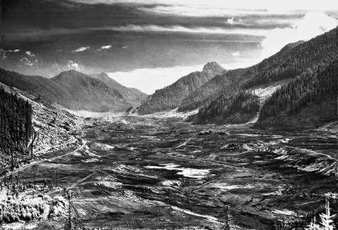 The Tolt River pre-dam, mid-50s