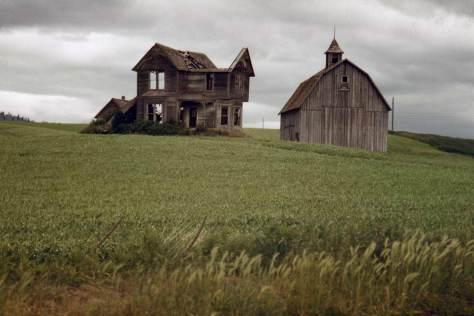 In the Palouse, the Okanagon, the green fields of Idaho, wheat fields of Oregon?  Sykes kept it a secret.