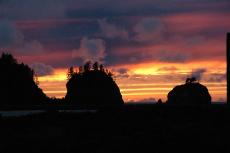 Lapush after sunset