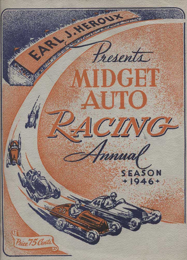 The 1946 car indiana midget race for