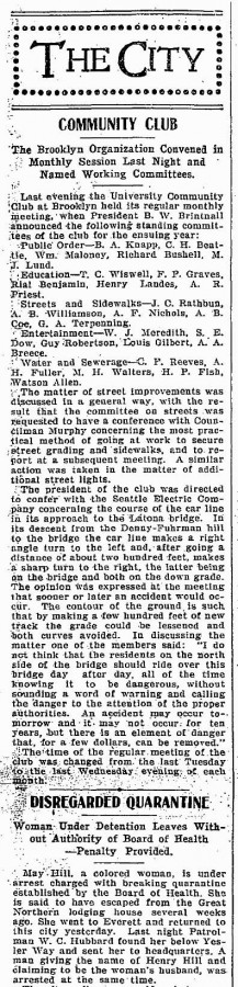 A clip from March 25, 1902
