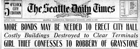 Seattle Times, April 19, 1905