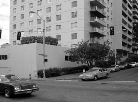 The Panorama House, northeast corner University Street and Boren Avenue, in 2004.