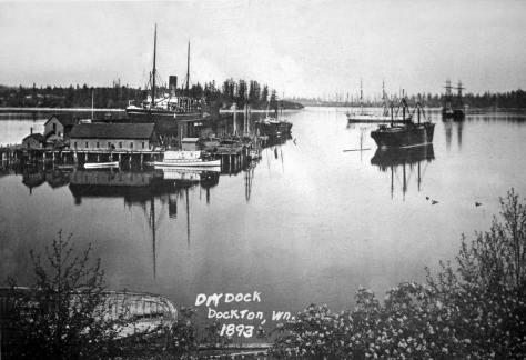 The Docton drydock (Courtesy, Dick Warren)