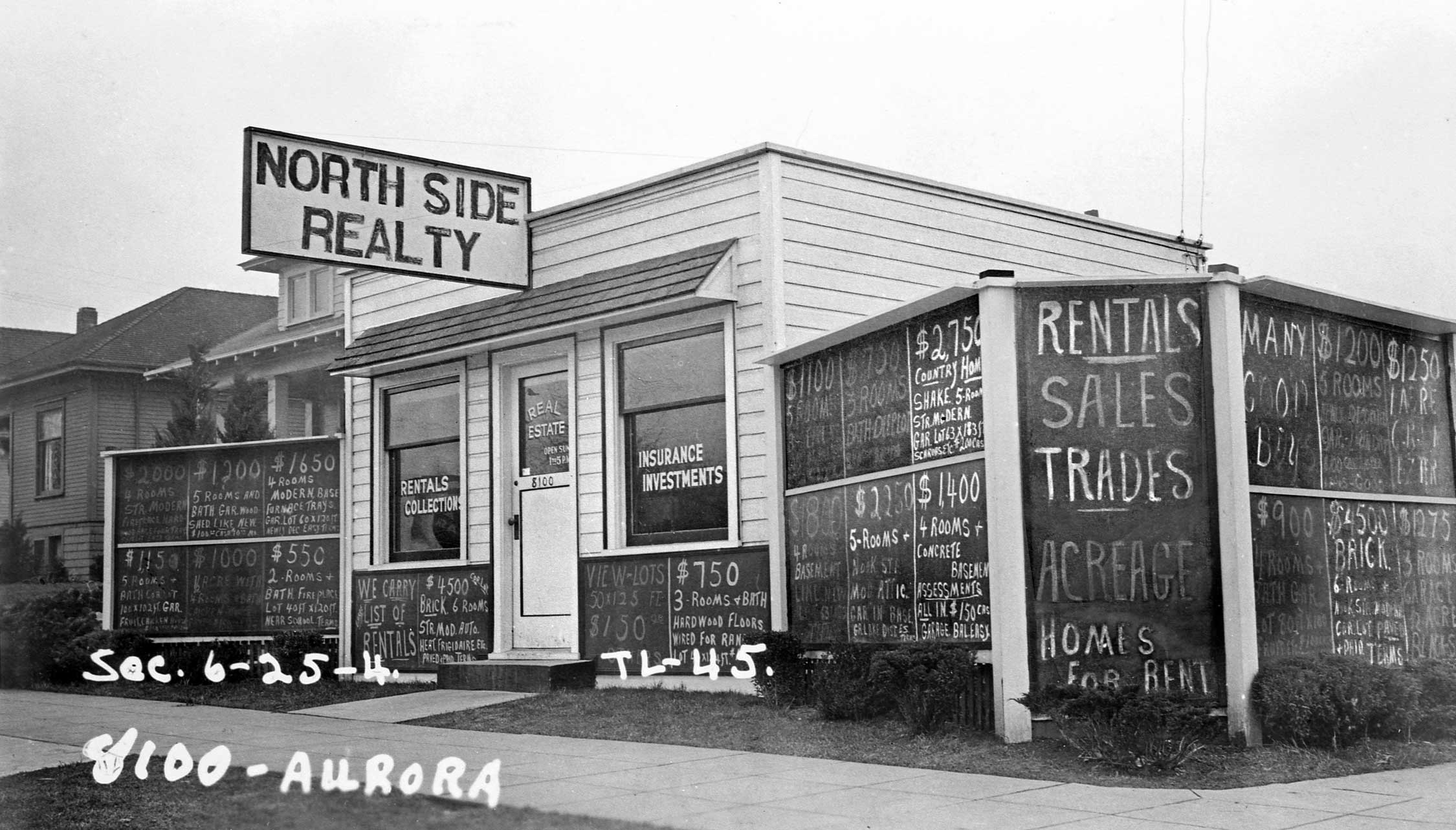 Seattle Now & Then: North Side Realty