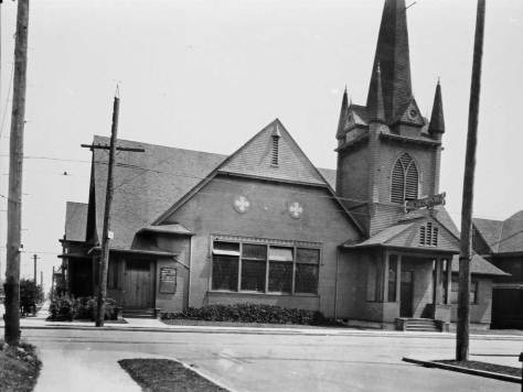 Tabernacle Baptist, southeast corner of 15th Ave. and Republican Street on Capitol Hill.