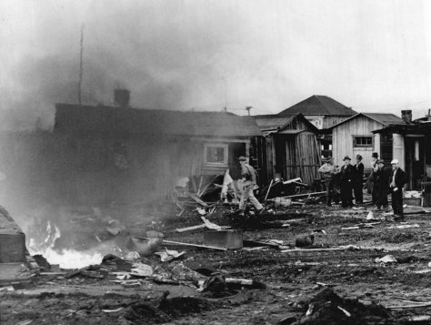 HOOVERVILL FIRE Poverty Hooverville - Hooverville - WEB