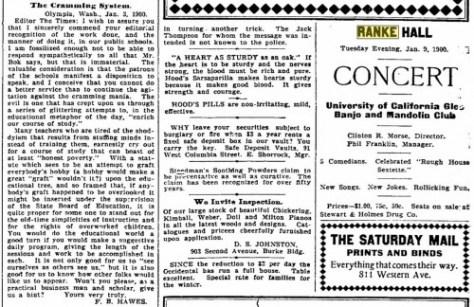 The Seattle Times, Jan. 6, 1900