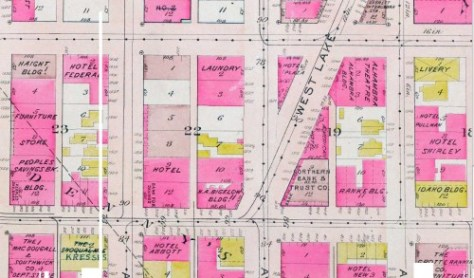 The 1912 Baist Real Estate Map - again.