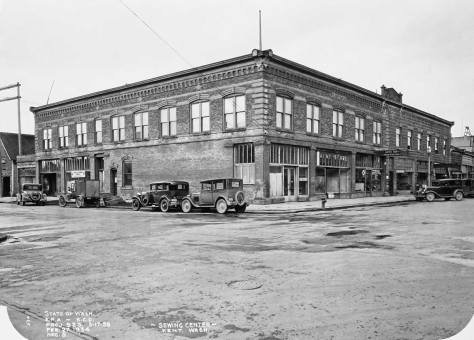 The Kent W.E.R.A. sewing center, also on Feb. 27, 1934.