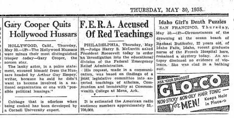 May 30, 1935