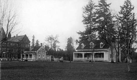 The Territorial Insane (they still called them in 1886-7 when it was bu ilt)) Asylum in Steilacoom.