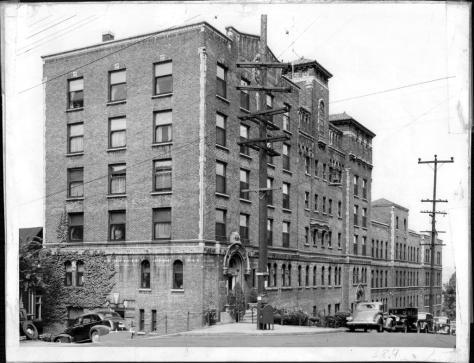 Virginia Mason Hospital, 1940.