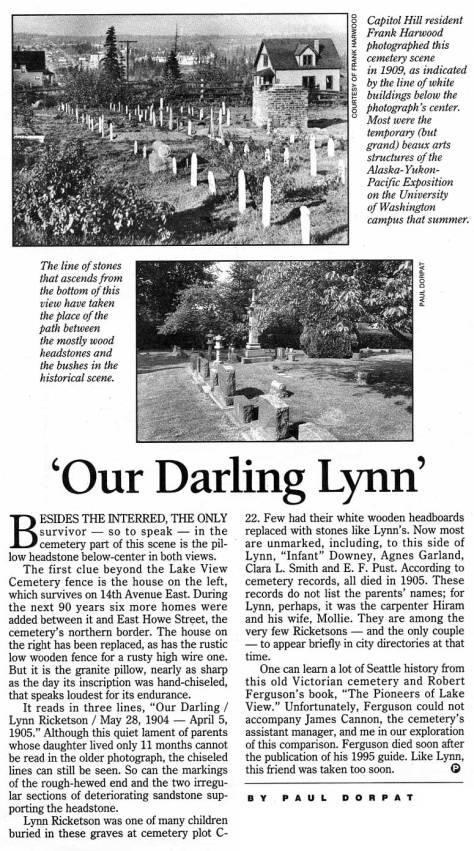 CLIP Our-darling-Lynn,-3,22,1998-