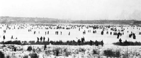 The Big Snow of Feb. 1916 also froze-over Green Lake.