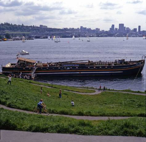 The 'Heliark' (barge AFL-767, April 30, 1978