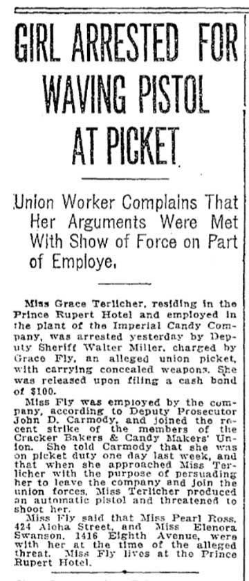 A Times clip from Sept. 16, 1917.