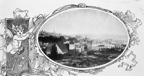 Like the Haynes photo above it, this was taken sometime in the early 1890s and years before the hotel was opened by its fighting developers. The hotel is behind the unidentified photographer of this illustration copied from a piece of stationary.