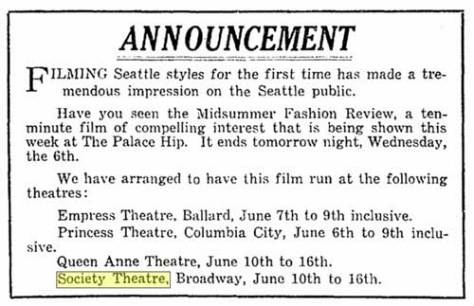 Appeared in The Seattle Times for June 5, 1917