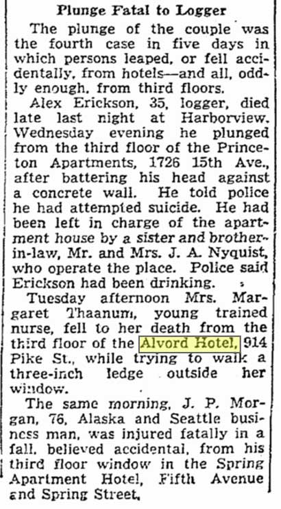 A Seattle Times clip: Oct. 23, 1936.