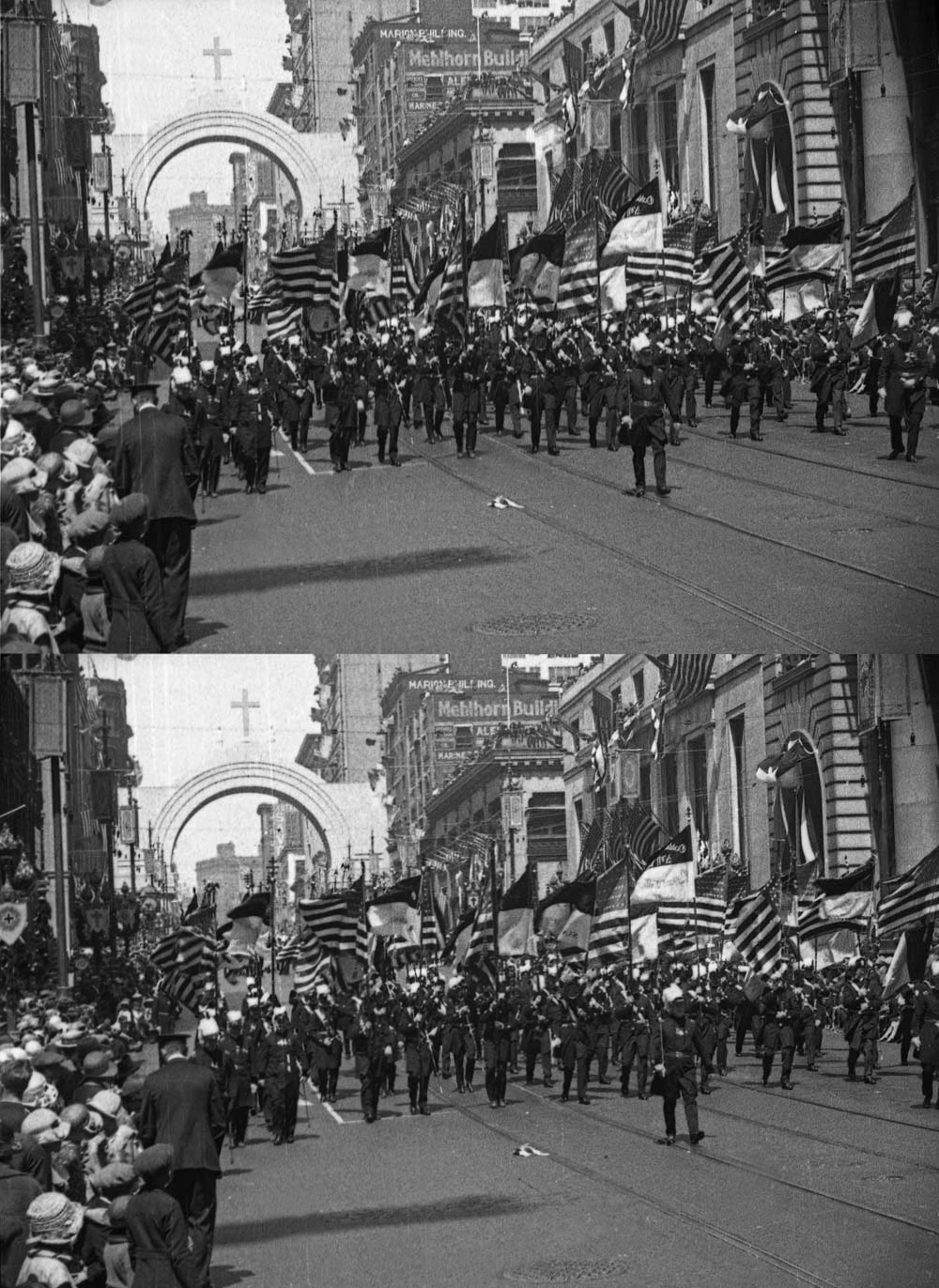 Seattle Now & Then: The Knights Templar take Seattle, 1925