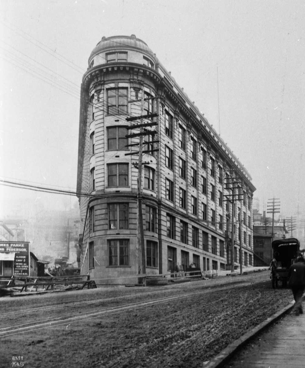 Seattle Now & Then: Fourth And Washington