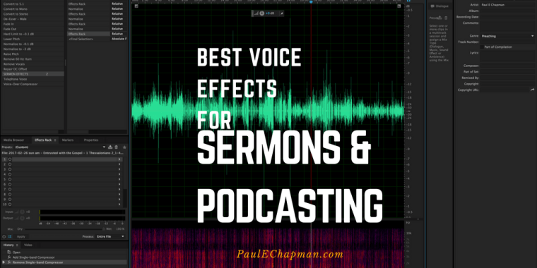 Best Voice effects for sermons and podcasting
