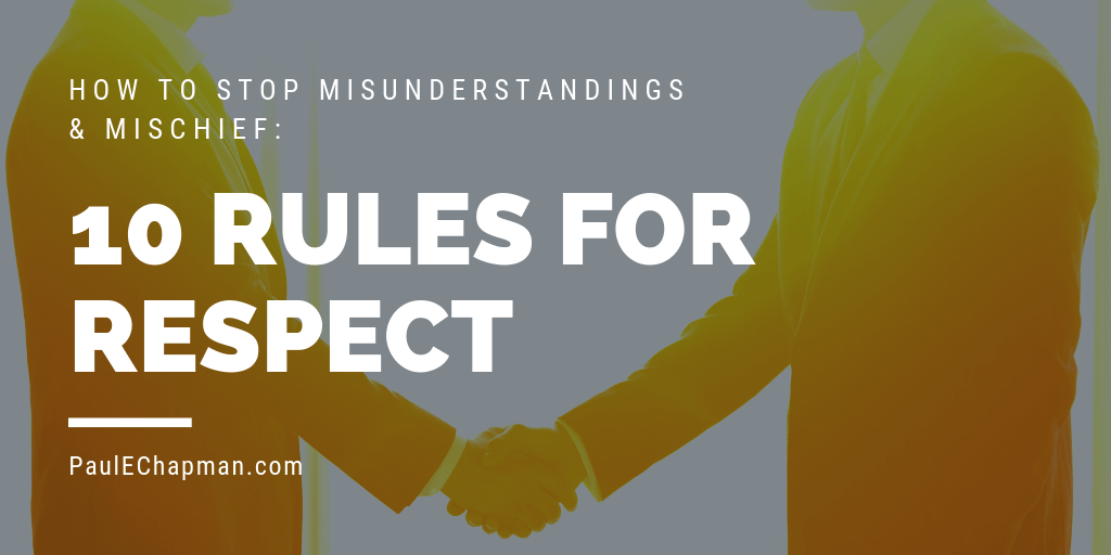 10 Rules For Respect in Relationships