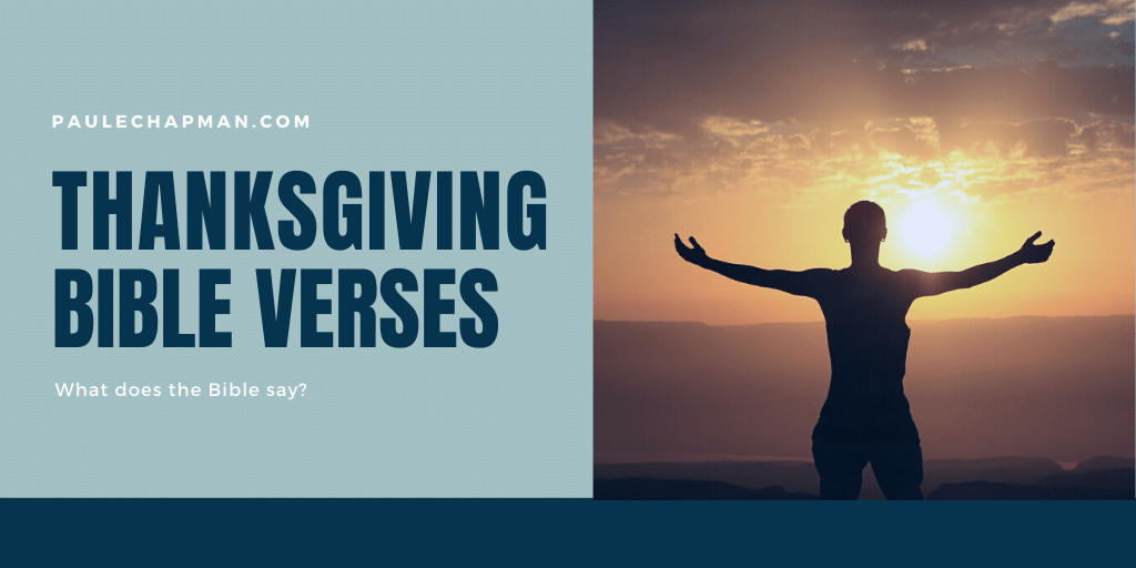 25 Thanksgiving Bible Verses