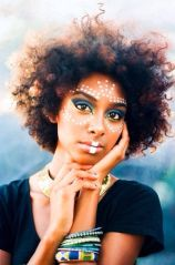 Go natural and embellish with make up