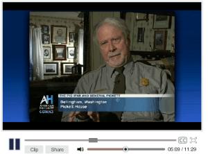 Mike Vouri talks Pig War on CSPAN (11:29) Dec 9, 2013