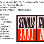 440. to Rhonda Ganz, Victoria, BC-The True Story of the Poets Chair
