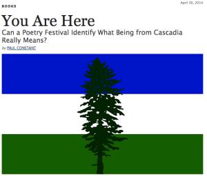 Paul Constant on Cascadia