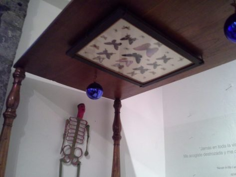 View Above Frida's Bed