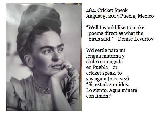 484. Cricket Speak