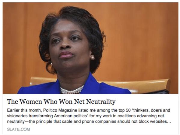The Women Who Won Net Neutrality