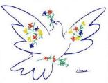 Picasso Peace Bird
