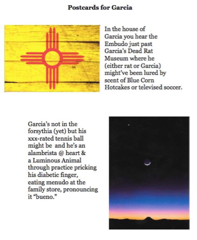 Postcards For Garcia 1
