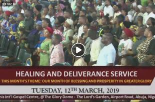 PAUL ENENCHE HEALING AND DELIVERANCE SERVICE