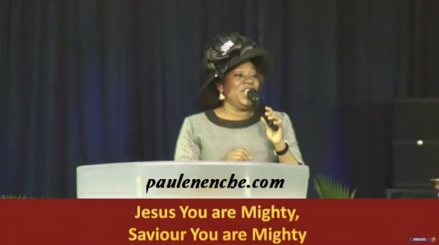 Becky Enenche ministering