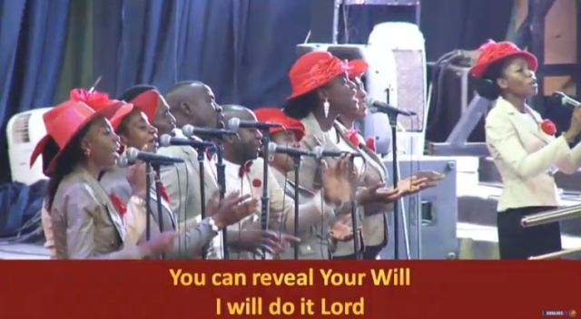 CHOIR MINISTRATION - FEARFULLY AND WONDERFULLY MADE