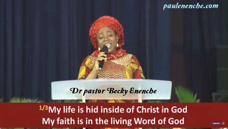 Dr Mrs Becky Enenche Ministering at Dunamis Church
